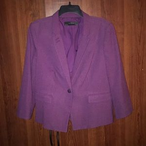 Pretty purple GAP blazer. NWOT.